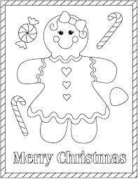 Ginger Bread Coloring Pages Gingerbread Coloring Pages Gingerbread