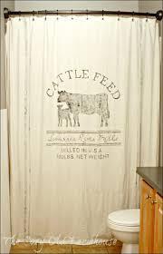 bathrooms marvelous sink drapes farmhouse curtain rods gray