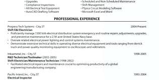 Electrician Resume Examples Inspiration Journeyman Electrician Resume Template Electrician Resume Example