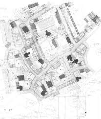 George Holt  amp  Andrew Gould   A Medieval NeighborhoodThis is a plan for a large new development concentrating on small and affordable houses  George and Andrew decided to draw from both early American and