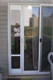exterior back door with dog door. sliding glass doggie door insert, must have! exterior back with dog x