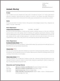 Cv Format For Job Sample Unique Cover Letter For Resume Format