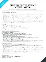 Truck Driver Objective For Resume Route Driver Resume Truck Driver Resume Example For Job Seeker 77