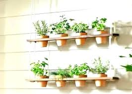 window herb planter ideas kitchen creative of hanging garden windowsill kitc