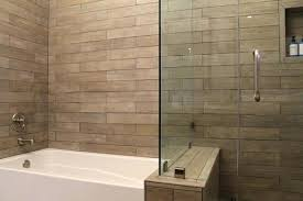 wood look tile in shower gallery of image with wood look tile shower