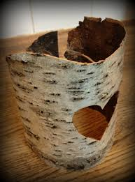 ... Attractive Accessories For Table Centerpiece Decoration With Birch Bark  Candle Holders : Delectable Picture Of Accessories ...