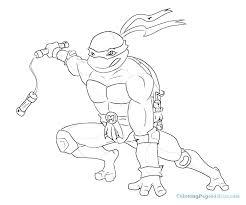 Ninja Turtle Color Pages To Print Ninja Turtles Coloring Pages