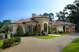 amazing mediterranean house plans with courtyards