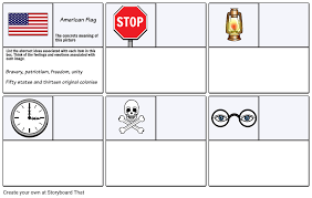 Example Worksheet 1 - Abstract Thinking Storyboard