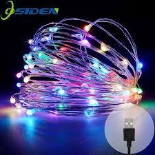 Đèn Led Dây Đèn DC5V USB 10M 33FT 5M 50 Đèn Led Ngoài Trời Chống Nước Giáng  Sinh Lễ Hội Tiệc Cưới Vòng Hoa Trang Trí cổ Tích Led|led lighting outdoor  lighting