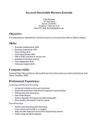 Interpersonal Skills Resume Account receivable resume shows both technical and interpersonal 75
