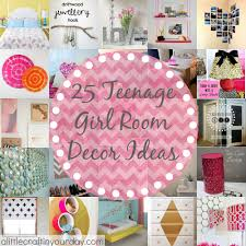 Teen Girl Room Decor 25 More Teenage Girl Room Decor Ideas A Little Craft In Your