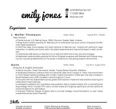 Beautiful Resume Google Analytics Pictures Simple Resume Office