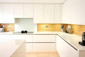 laminate kitchen countertops with white cabinets. Laminate Kitchen Backsplash Mid Sized Trendy Photo In With White Cabinets An Island And Glass Pictures Countertops
