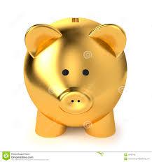 gold piggy bank piggy bank financial savings business concept
