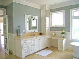 Amazing of Simple White Color Painted Bathroom Vanity By #2918