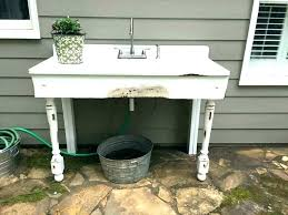 outdoor sink table outdoor sink tables outdoor sink table new best concrete images on outdoor sink outdoor sink
