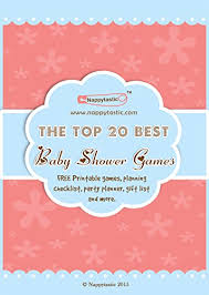 Amazon Com The Top 20 Best Baby Shower Games Free