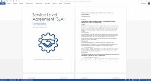 Service Level Agreement Template Download 2 Ms Word 3 Free Excel