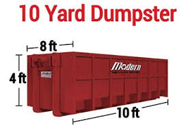 Dumpster Sizes Chart Dumpster Rental Services Modern Recycling Services