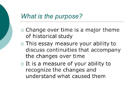 ccot essay change over time writing what is the purpose 2 what is the purpose