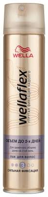 Wella <b>Лак</b> для волос Wellaflex Объем до 2 дней <b>сильной</b> ...