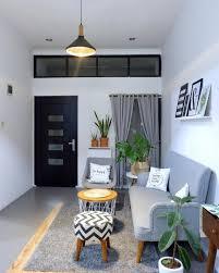 Ruang Tamu Design Desain Ruang Tamu Minimalis Pemberian Cat Berwarna Putih