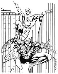 Small Picture Super Heroes Coloring Pages Superhero Coloring Printables