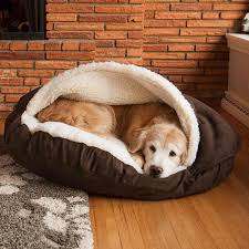 Image of: New Sherpa Dog Bed