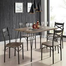 industrial dining furniture. Worldwide Home Furnishings 207-183RK-5PK 5-Piece Industrial Dining Table Set Industrial Dining Furniture