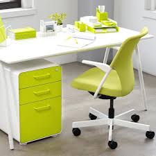 lime green office furniture. Lime Green Desk Chair White West 3 Drawer File Cabinet Modern Office Furniture Neon S