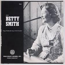 BETTY SMITH: Folk Legacy Records NORTH CAROLINA Vinyl LP w/ Insert | eBay