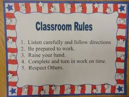 Good Manners Chart For Class 1 Simple Ideas For Establishing Classroom Rules And Manners