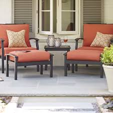Decorating Red Lowes Patio Cushions For Cozy Patio Decoration Ideas