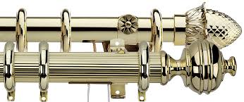 brass curtain rods. Integra Traditional Brass Curtain Poles Rods O
