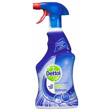 dettol healthy clean antibacterial bathroom cleaner trigger spray 500ml