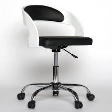 small desk chair white backrest