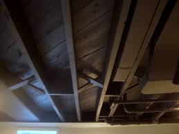 painted basement ceiling. Image Of: Painted Basement Ceiling Black M