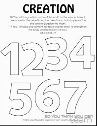 Image Result For Creation Colorings Bible Study Days Of Free