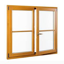 Holzfenster Mit Sprossen Fensterblickde