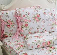 floral bed sheets tumblr. Modren Floral Amazon Com FADFAY Cotton Bed Sheets Set Shabby Rose Floral Print  7198sHNwIML SX463 Pink Intended Tumblr