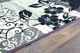 purple grey rugs and brilliant black regarding gray rug for nursery li gray and white area rug purple black