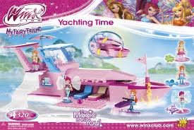 <b>Конструктор</b> Winx <b>Yachting Time</b>