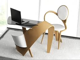 modern unique office desks. sculptured modern office furniture made of wood unique desks b