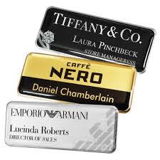 Metal Name Badges Name Badges International Staff Name