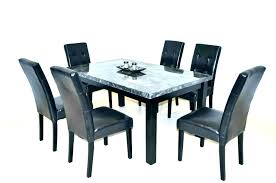 kitchen table with 6 chairs round sets for dining set oval seater shape se