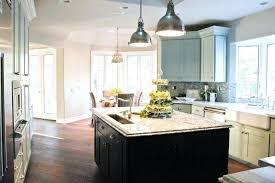 black lantern pendant light lighting over kitchen island glass uk