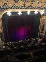 New York City Center Seating Chart View New York City Center Section Balcony Row G