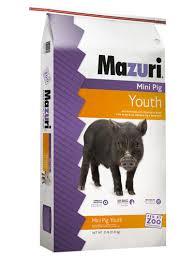 Mazuri Mini Pig Feeding Chart Mazuri Mini Pig Youth