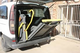 Single Arm Wheelchair Lifts  SWLS Wheelchair Lifts - Exterior wheelchair lifts